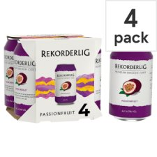 Rekorderlig Passion Fruit Cider 4X330ml Can