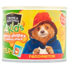 Crosse And Blackwell 4Kids Paddington Pasta Letters 213G