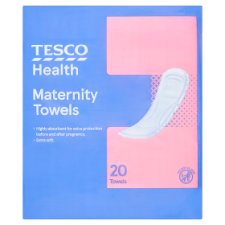 Tesco Maternity Towel 20 Pack