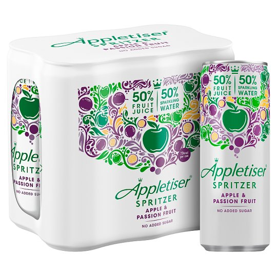 image 1 of Appletiser Spritzer Apple And Passion Fruit 6X250ml