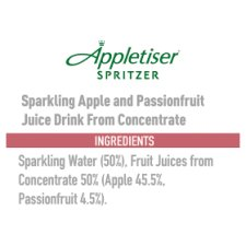 image 2 of Appletiser Spritzer Apple And Passion Fruit 6X250ml