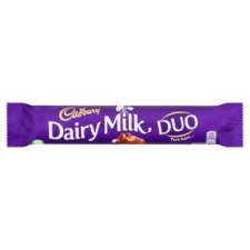 Cadbury Dairy Milk Duo 65G