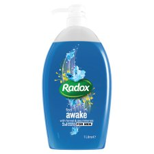 Radox Feel Awake For Men 2 In 1 Shower Gel 1L
