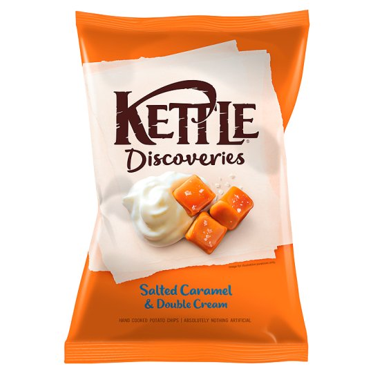 Discoveries Salted Caramel 130G