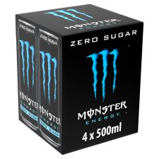 Monster Absolute Zero 4X500ml