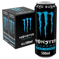 image 1 of Monster Absolute Zero 4X500ml