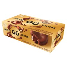 Gu Hot Chocolate And Praline Molton Middles 2X95g