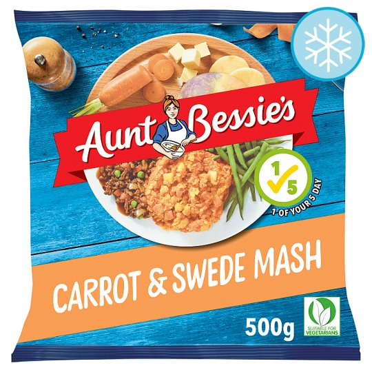 Aunt Bessie's Carrot And Swede Mash 500G