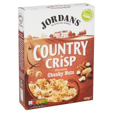 image 1 of Jordans Country Crisp Chunky Nuts Cereal 500G