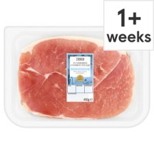 Tesco Unsmoked Gammon Steaks 2 Pack 450G
