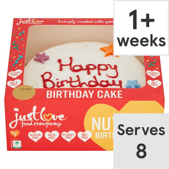 Just Love Birthday Cake Groceries Tesco Groceries