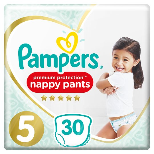 image 1 of Pampers Active Fit Pants Size 5 Essential Pack 30 Nappies