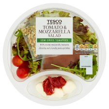 Tesco Tomato And Mozzarella Salad 185G