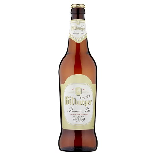 Bitburger Lager Bottle 660Ml