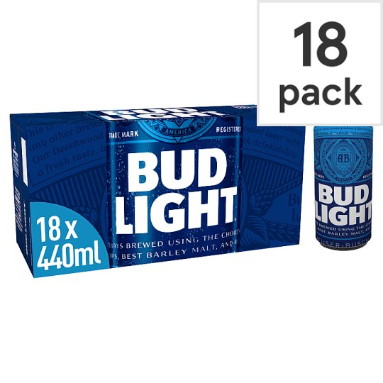 Bud Light 18X440ml