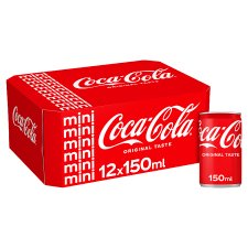 image 1 of Coca Cola Regular 12 X 150Ml