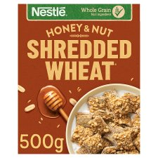 Nestle Shredded Wheat Honey Nut Cereal 500G