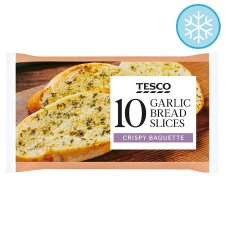 Tesco 10 Garlic Bread Slices 260G
