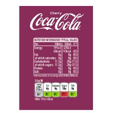 image 3 of Coca Cola Cherry 1.5Ltr