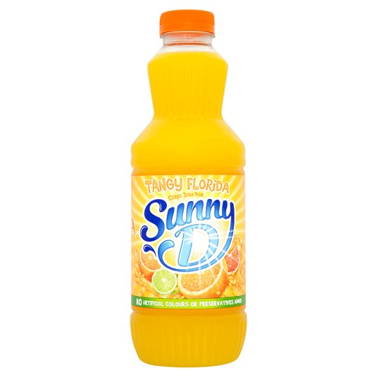 Sunny Delight Florida Style Orange Juice Drink 1 L