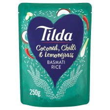 Tilda Coconut Chilli And Lemongrass Basmati Rice 250G