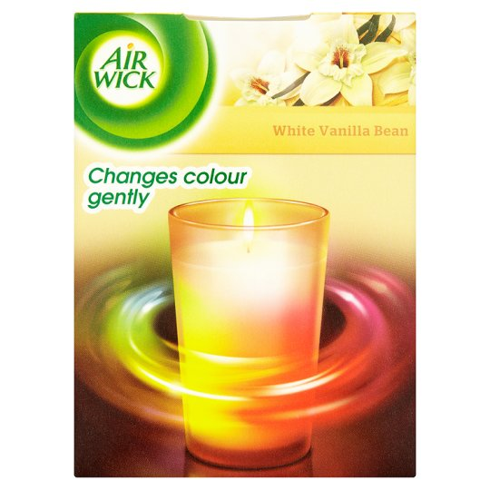 Airwick Air Freshener Colour Changing Candle Vanilla