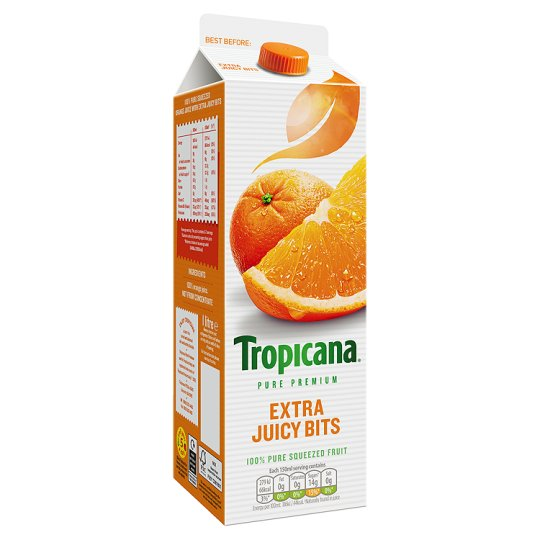 Orange Juice Ingredients Tropicana Tropicana Orange Juice Extra