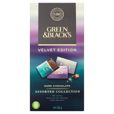 image 2 of Green And Blacks Assorted Dark Chocolate 120G