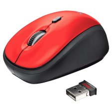 Trust Yvi Wireless Mouse Red