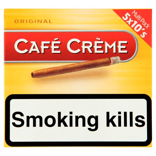 Cafe Creme Cigars 5 X 10 Pack