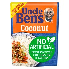 Uncle Ben's Microwave Special Coconut Rice 250G