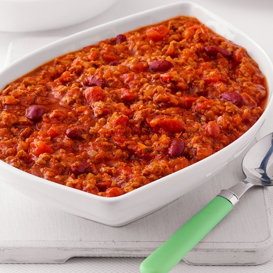Tesco Easy Entertaining Chipotle Beef Chilli Serves 4