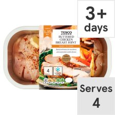 Tesco Buttered Chicken Breast Joint 640G