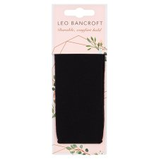 Leo Bancroft Fabric Head Wrap Black