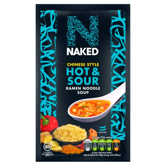 Naked Noddle Ramen Hot And Sour Soup 25G