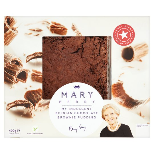 Mary Berry Belgian Chocolate Brownie Pudding 400G