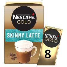 Nescafe Gold Skinny Latte Coffee 8 X 19.5G