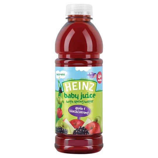 Heinz Apple And Blackcurrant Juice 750Ml