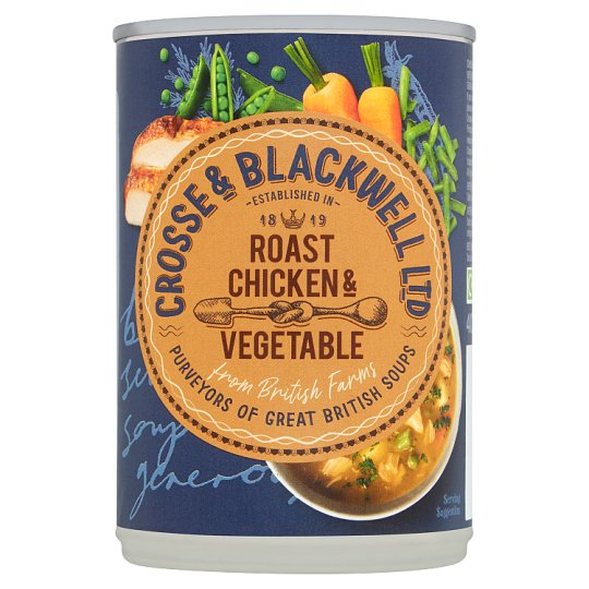 Crosse And Blackwell Best Of British Roast Chicken And Vegetable Soup 400G