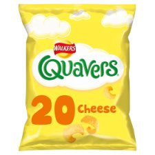 Walkers Quavers Cheese Snacks 20 X 16G