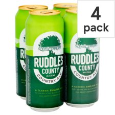 Ruddles County Premium Ale 4X500ml Cans
