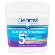 Clearasil Ultra 5In1 Cleansing Pads