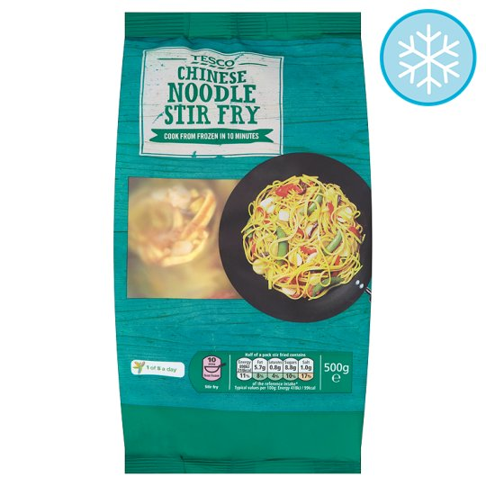 Tesco Chinese Noodle Stir Fry 500G