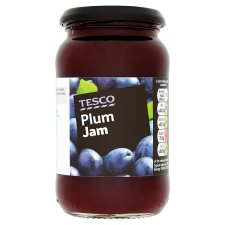 Tesco Plum Jam 454G