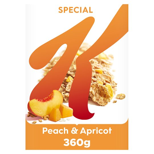 Kelloggs Special K Peach And Apricot Cereal 360G