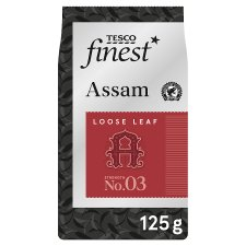 Tesco Finest Assam Leaf Tea 125G
