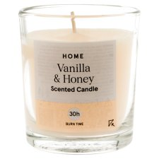 Tesco Vanilla And Honey Filled Candle