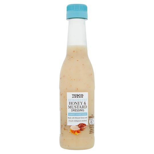Tesco Reduced Fat Honey And Mustard Dressing 250Ml