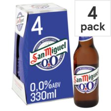 San Miguel 0.0% Alcohol 4X330ml