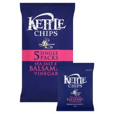 Kettle Sea Salt & Balsamic Vinegar 5X30g